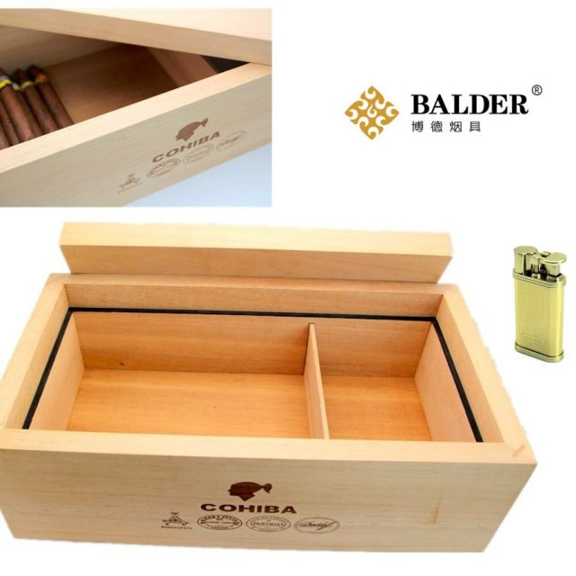 COHIBA cigar box cigar Case Humidor special mellow box of Spanish cedar CH-0457