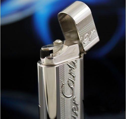 S.T Memorial Catier lighter ! New In Box Serial number KD201