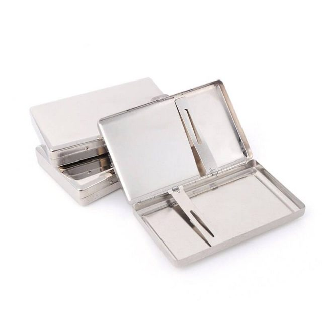 ONUOSS Zinc Alloy Metal Cigarette Cigar Pocket Box Case Classical Metal Tobacco Cigarette Case Smoke Holder For Smoking pipes