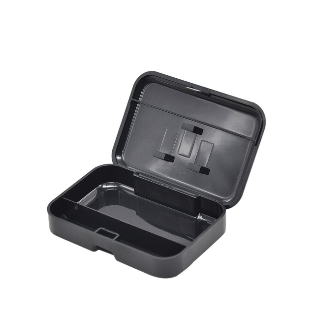Portable Pocket Size Plastic Tobacco Box ( 110mm*75mm) Cigarette Storage Case With 78MM Papaer Holder